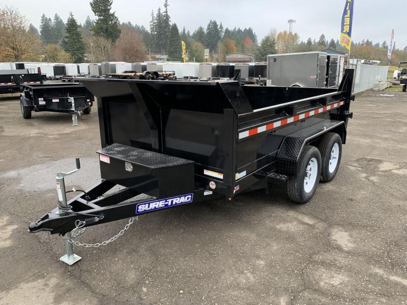 INCOMING! New 6X10 10K Dump Trailer With Spreader Gate and Ramps