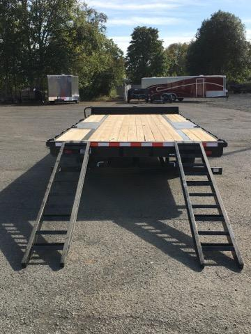 8.5x20 15K Deckover Equipment Trailer **Black Powder Coated**