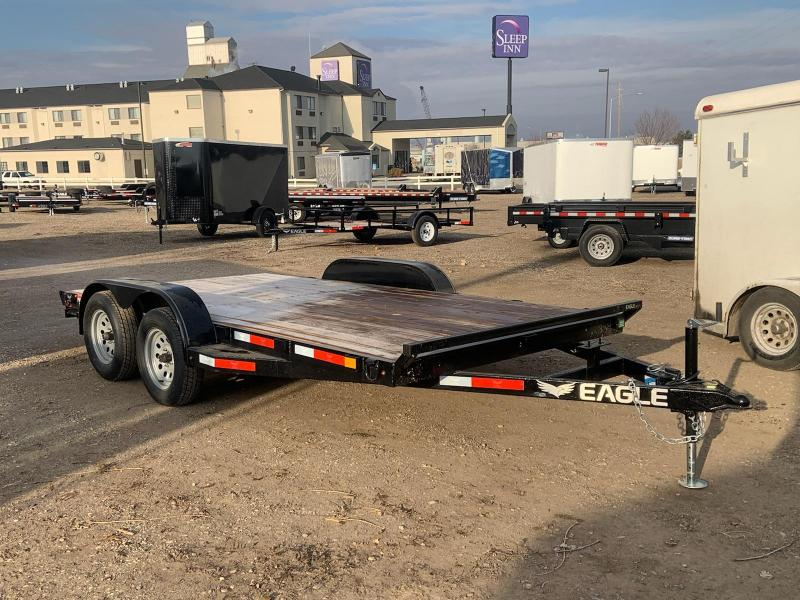 7x14 Tandem Axle 7k Flat Bed Car Hauler