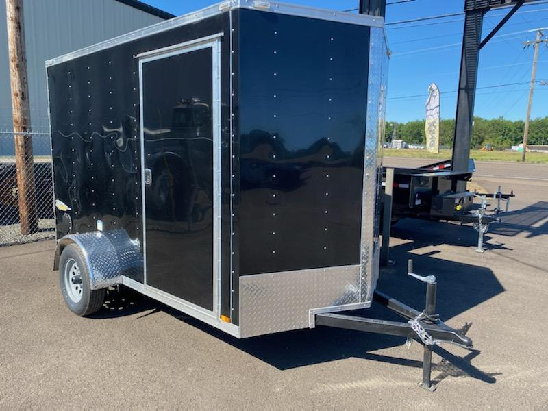 6x10 Enclosed Cargo Trailer  **  Rear Ramp Door  **  6'' of additional height  **  CALL FOR QUOTE **