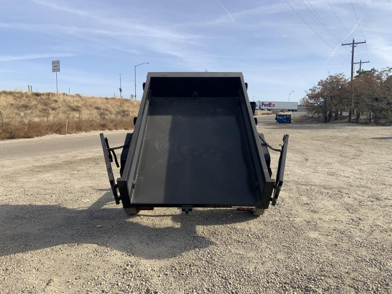 New 5x8 Single Axle Heavy Duty 5k Dump Trailer