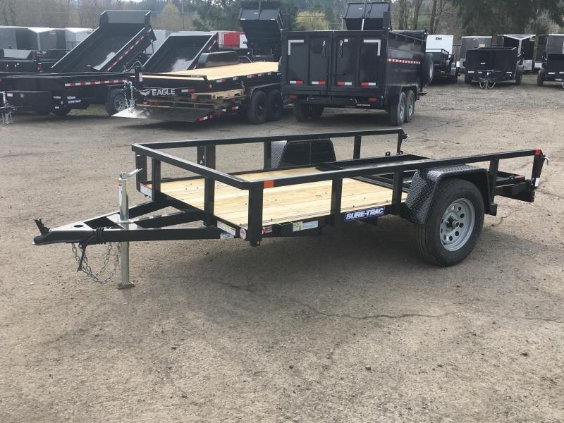 6x10 Utility Trailer **Removable Ramp & Powder Coat**