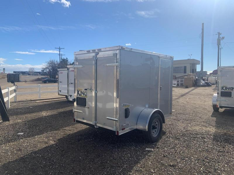 5x8 Single Axle Enclosed Cargo Trailer **ON ORDER**