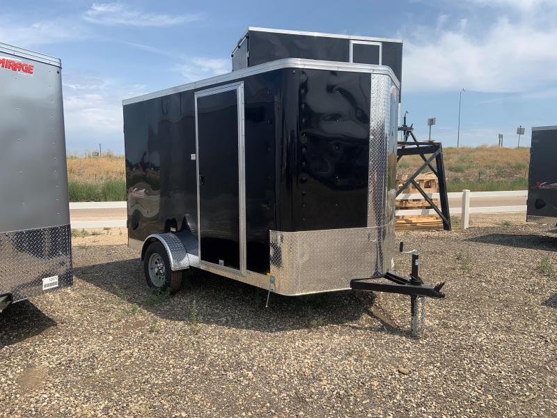 6x10 Enclosed Cargo Trailer