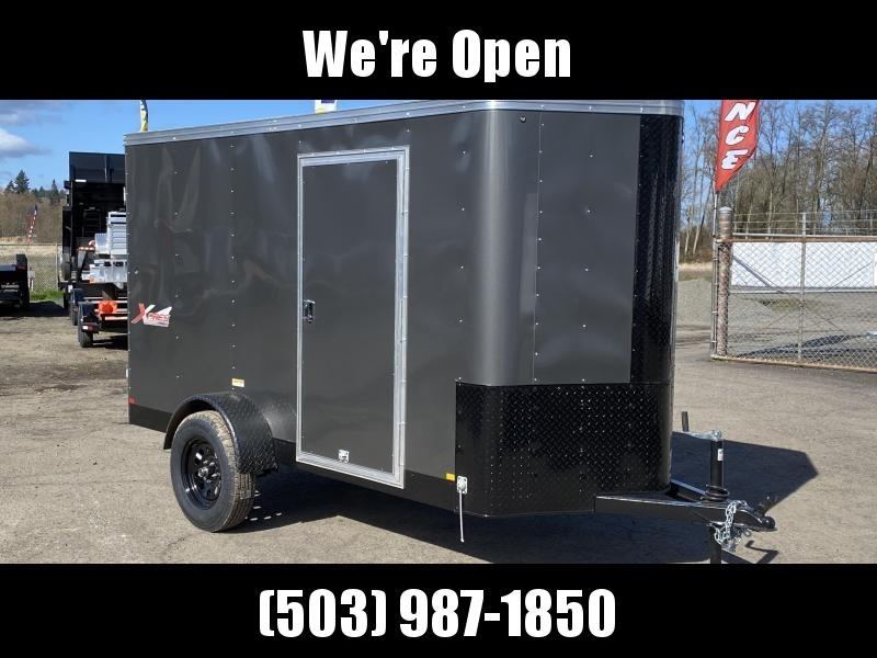 5x10 Enclosed Cargo Trailer **With RV Side Door**
