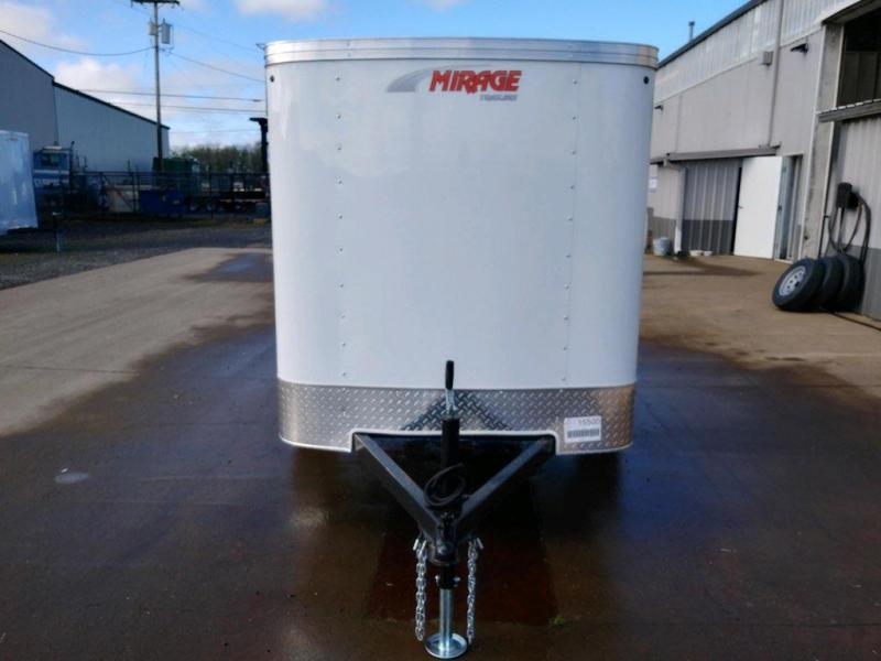 5x8 Enclosed Cargo Trailer  **  No side door - Extra security  **