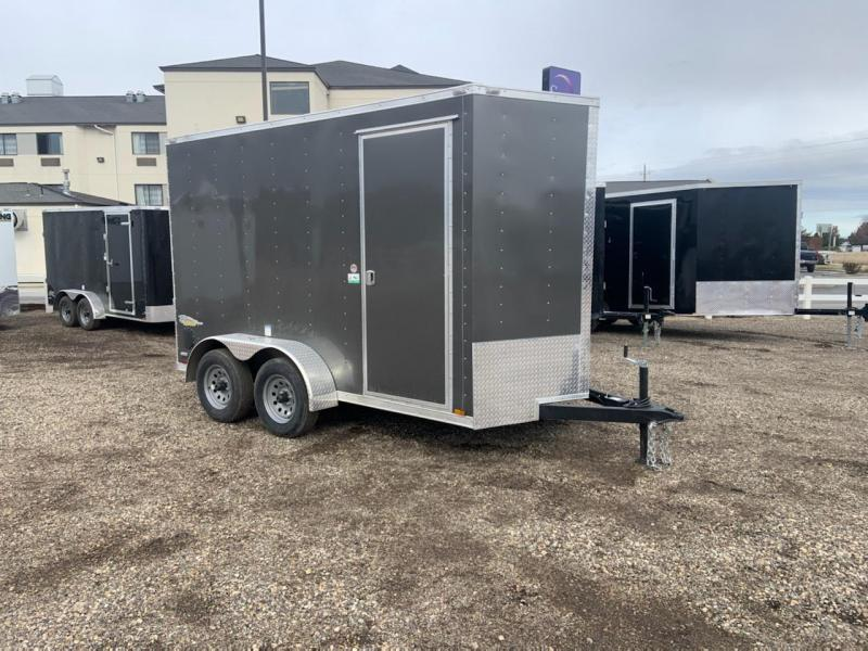 6x12 Tandem Axle Enclosed Cargo Trailer **WE ARE STILL OPEN**