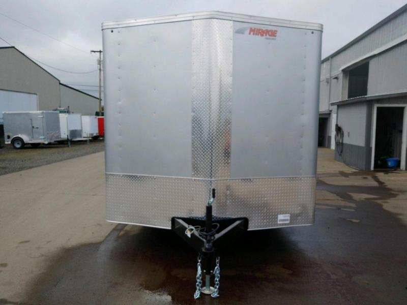8.5x20 Enclosed Cargo Trailer  **  Car Carrier Package  **  6'' of extra height  **