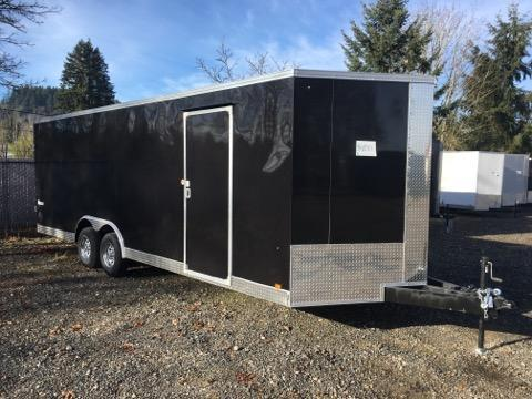 8.5x24 Enclosed Car Cargo Trailer **Screwless Skins** Scratch & Dent