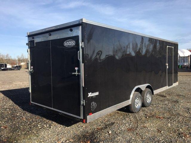 8.5x24 Enclosed Car Cargo Trailer **Screwless Skins** Scratch & Dent