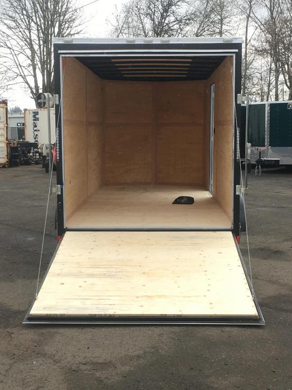 7x16 Tandem Axle Enclosed Cargo Trailer **Side X Side**