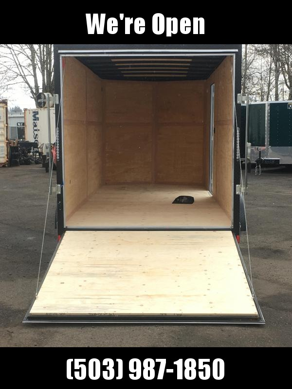 7x16 Tandem Axle Enclosed Cargo Trailer **Side X Side**