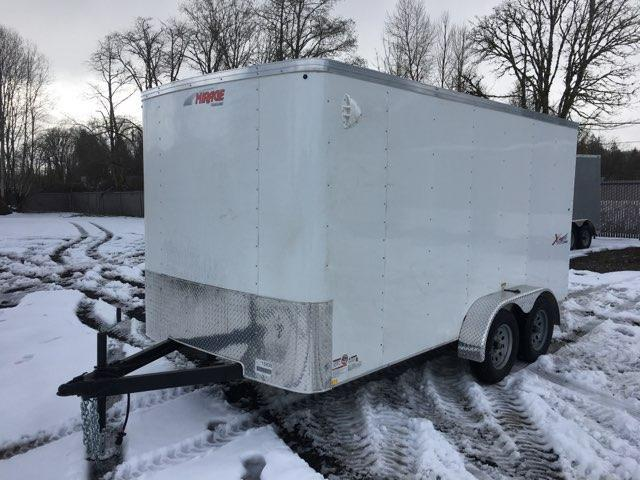 7x14 Enclosed Cargo Trailer **  Ramp Door  **  6'' of extra height