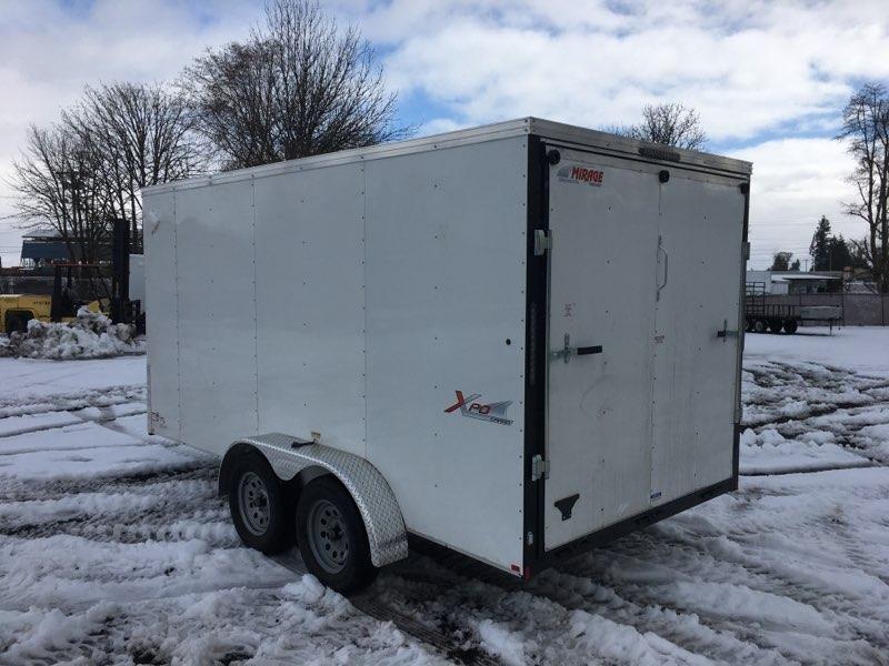 7x14 Enclosed Cargo Trailer **  Ramp Door  **  6'' of extra height