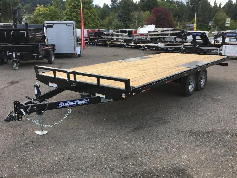 8.5x20 Tandem Axle 10k Deckover **Powder Coated**