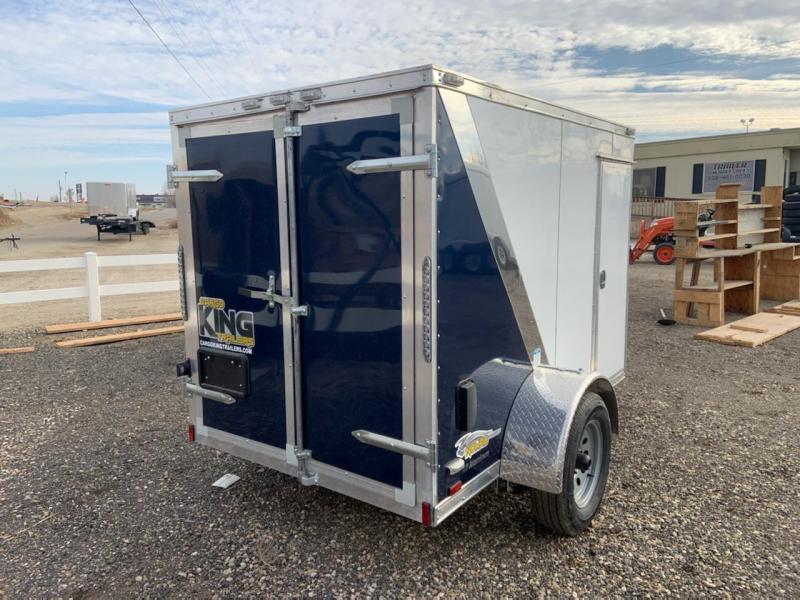 5x8 Single Axle Enclosed **ALL ALUMINUM** Cargo Trailer