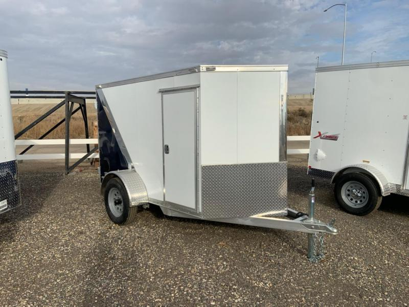 5x8 Single Axle Enclosed **ALL ALUMINUM** Cargo Trailer