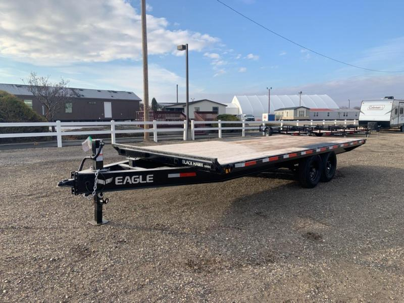 8.5x20 Heavy Duty Tandem Axle 14k Deck Over