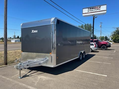 2021 ALCOM 8.5x24 Enclosed Cargo Trailer  **  Car Hauler  **  All-Aluminum