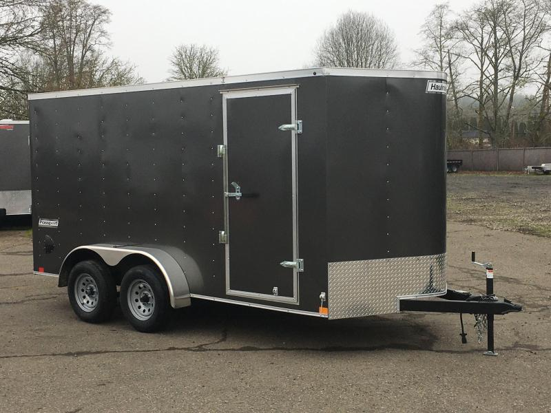 7x14 Tandem Axle Enclosed Cargo Trailer With Ramp