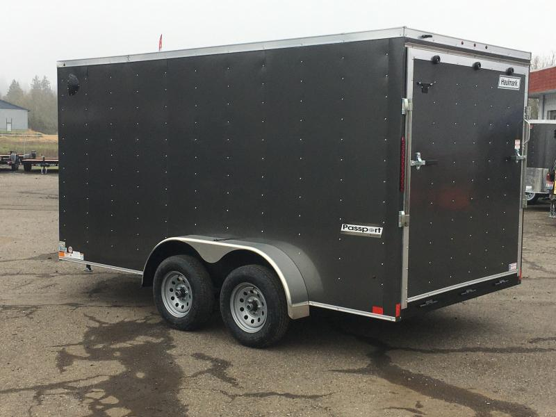7x16 Tandem Axle Enclosed Cargo Trailer With Ramp