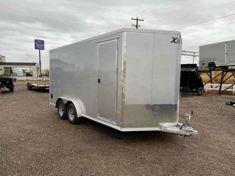 7.5x16 All Aluminum Enclosed Cargo Trailer