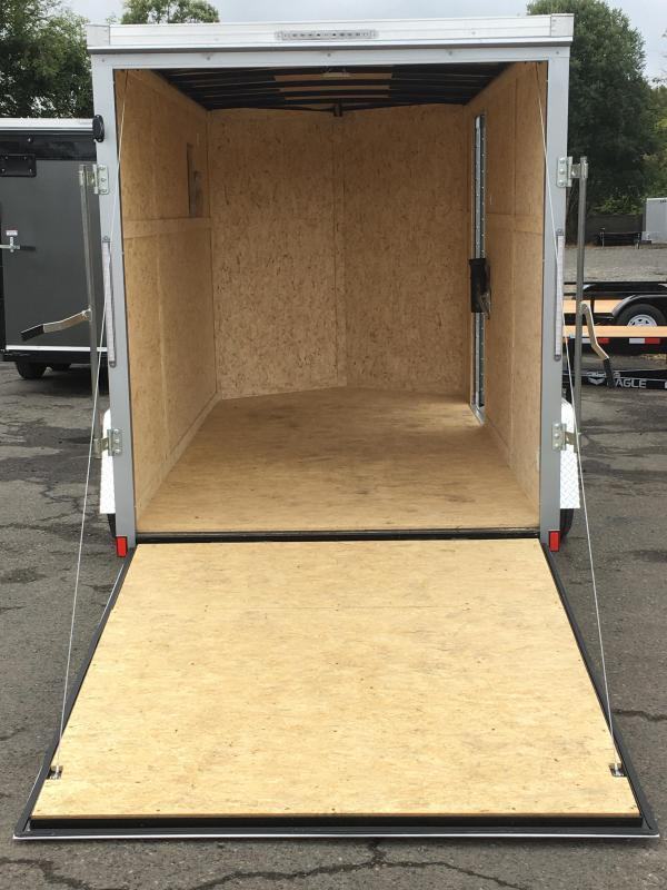 6X12 Enclosed Cargo Trailer with Ramp Rear Door **FACTORY ORDER**
