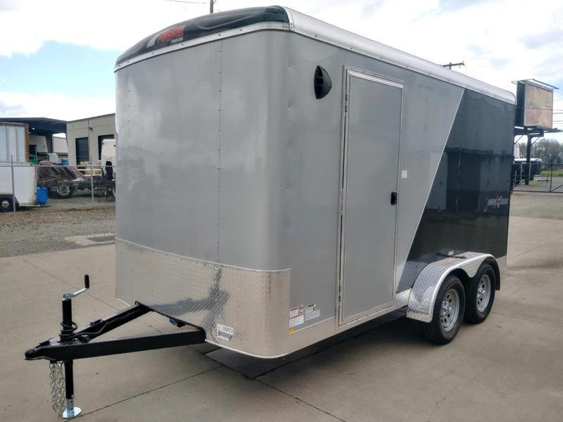 7x14 Enclosed Cargo Trailer  ** Side x Side Package **  6'' of extra height  **