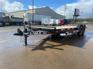 2021 7'x20' Equipment Trailer  **  Rear Leveling Stabilizer Jacks  **  Extended Side Step  **  Heavy Duty 5' Ramps  **