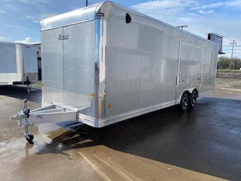 2021 ALCOM XPRESS 8X26  **  ALUMINUM  **  Fully Loaded  **  Cabinets  **  ESCAPE DOOR