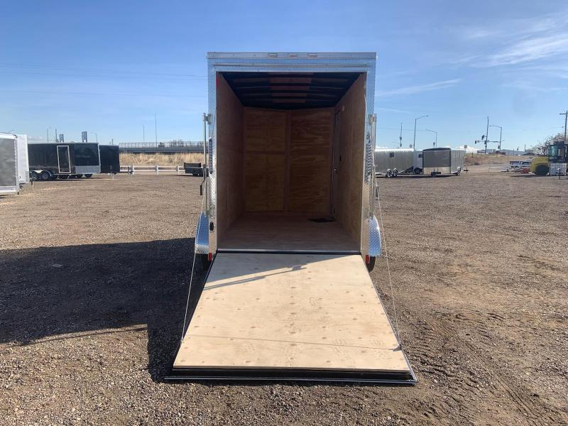 6X12 Tandem Axle Enclosed Cargo Trailer **WE ARE STILL OPEN**