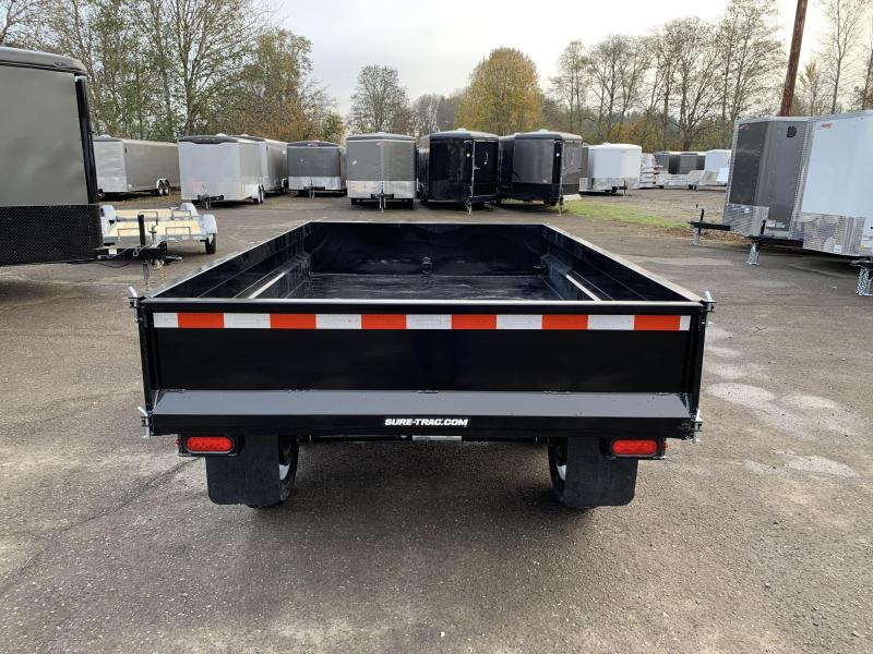 New 6x10 7K Deckover Dump Trailer