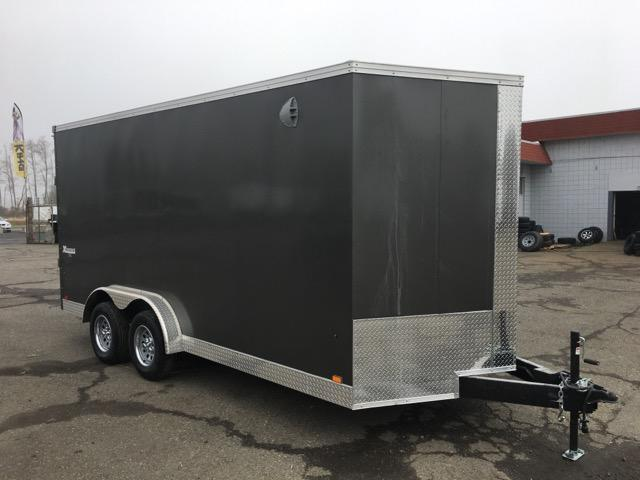 7X16 Enclosed Cargo Trailer **7.5 Wide Side X Side**