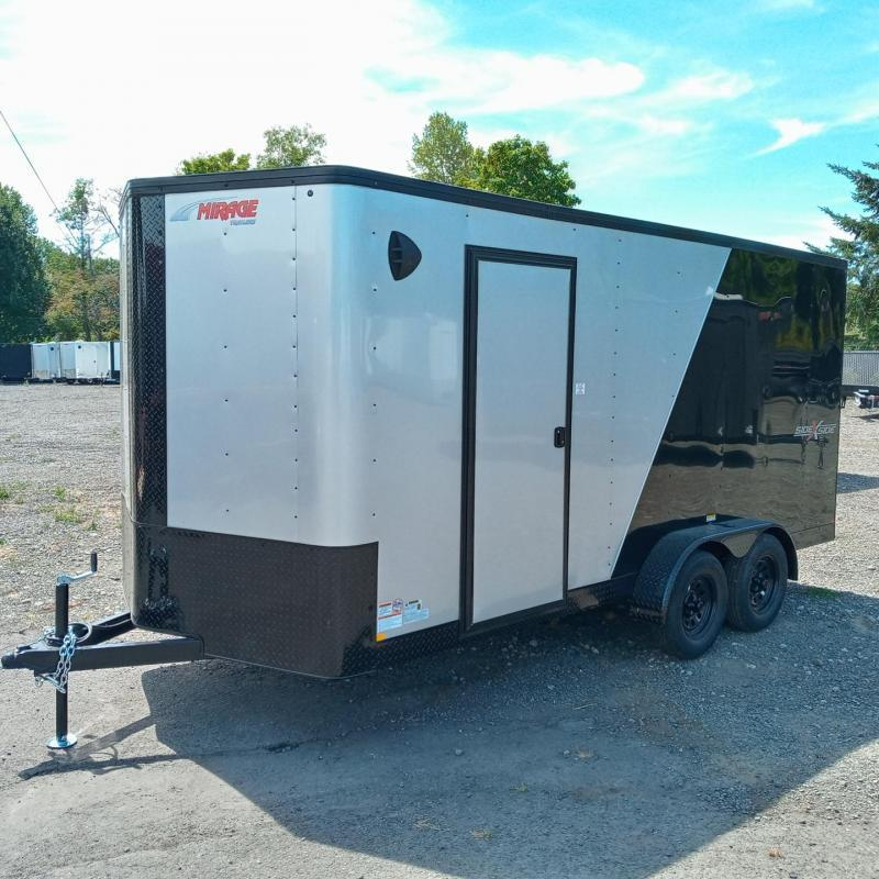 7x16 Enclosed Cargo Trailer  ** Side by Side **