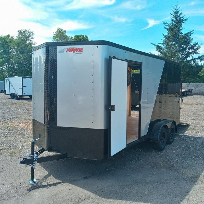 7x16 Enclosed Cargo Trailer  ** Side by Side ** **FACTORY ORDER**