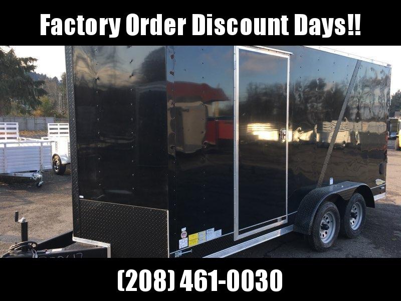 7x16 Tandem Axle Enclosed Cargo Trailer **FACTORY ORDER**