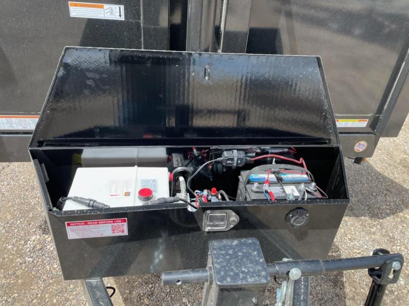 7x12 Tandem Axle HD Dump Trailer