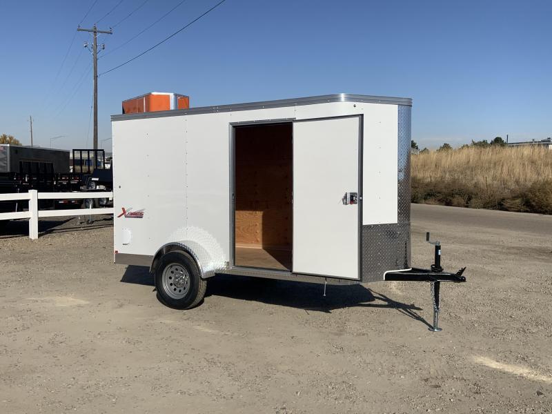 5x10 Single Axle Enclosed Cargo Trailer