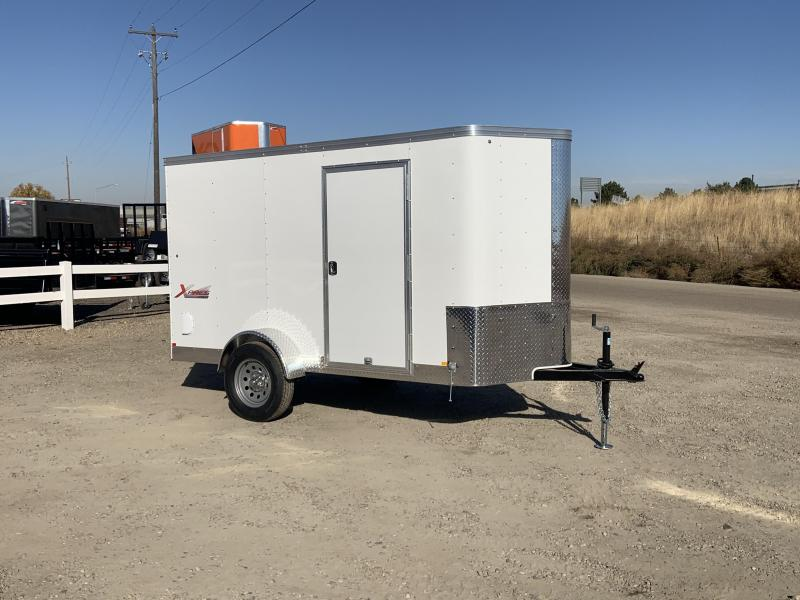 5x10 Single Axle Enclosed Cargo Trailer
