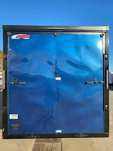 Enclosed Cargo Trailer ** Pitch Black Side x Side Package ** Street Side RV Door **