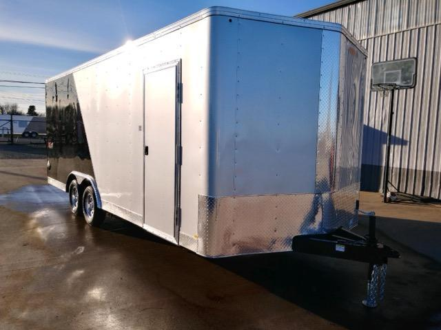 8.5x20 Enclosed Cargo Trailer  **  Car Carrier with Beavertail