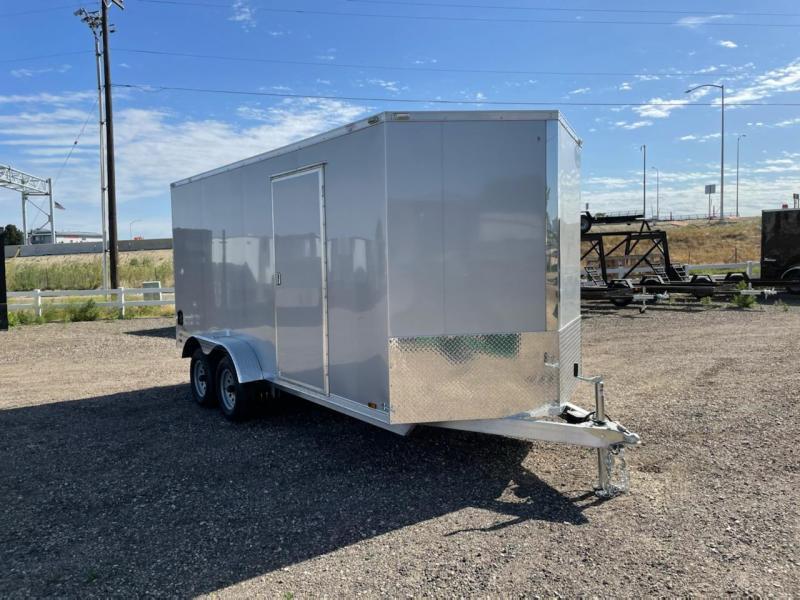 7x16 Tandem Axle Enclosed Cargo Trailer **ALL ALUMINUM