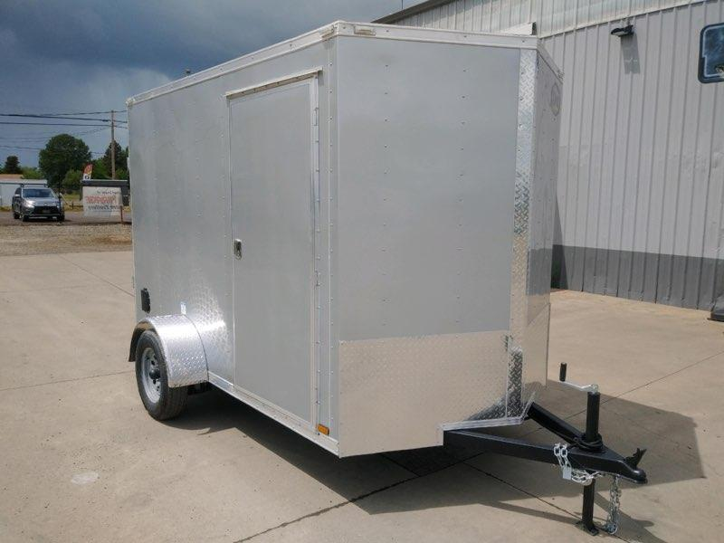 6x10 Enclosed Cargo Trailer  **  6'' of additional Height  **  Rear Ramp Door  **
