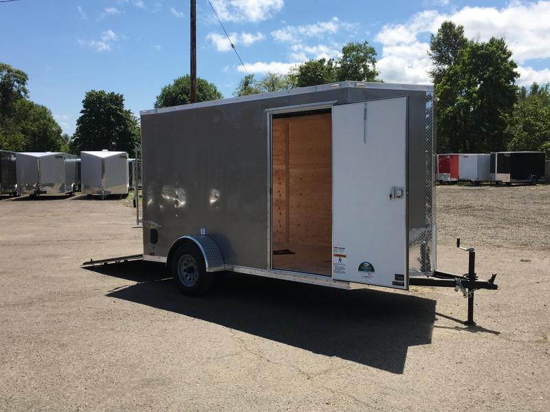 6x12 Enclosed Cargo Trailer With Ramp Door **FACTORY ORDER**