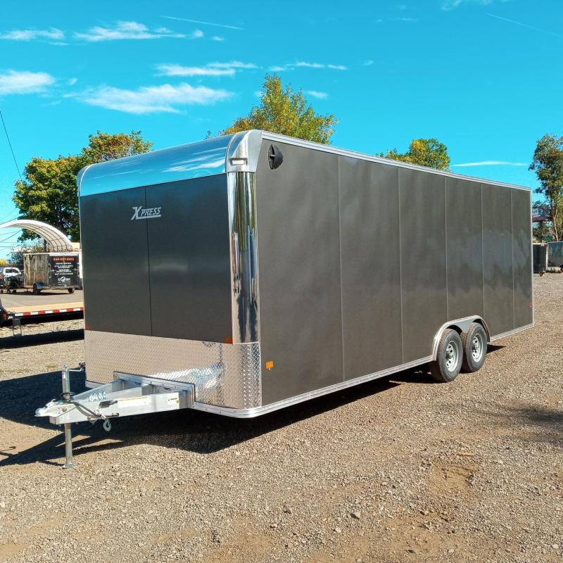 2022 ALCOM 8.5x24 Enclosed Cargo Trailer  **  Car Hauler  **  All-Aluminum **