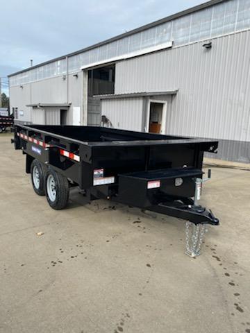 6x10 Deck Over Dump Trailer  **  10k **