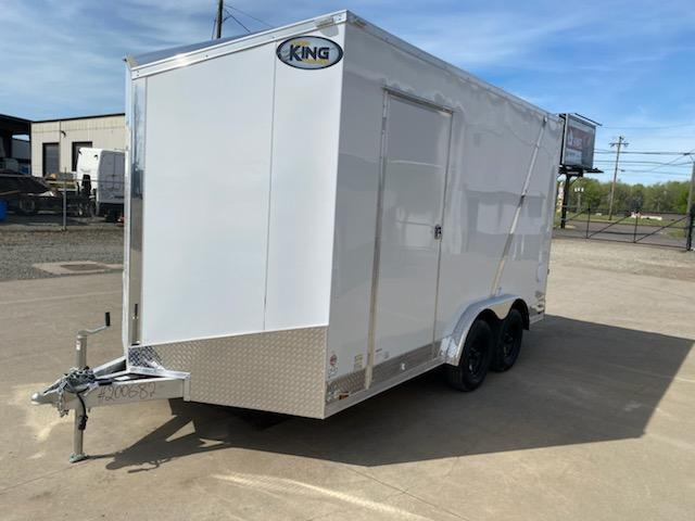 8x14 Enclosed All-Aluminum Cargo Trailer  **  UTV Package  **  Rear Ramp Door  **  Roof Vent  **