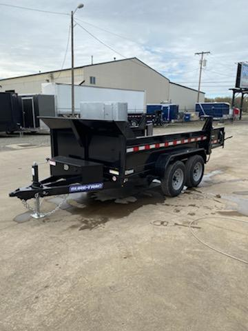 New 6X10 10K Dump Trailer With Spreader Gate and Ramps