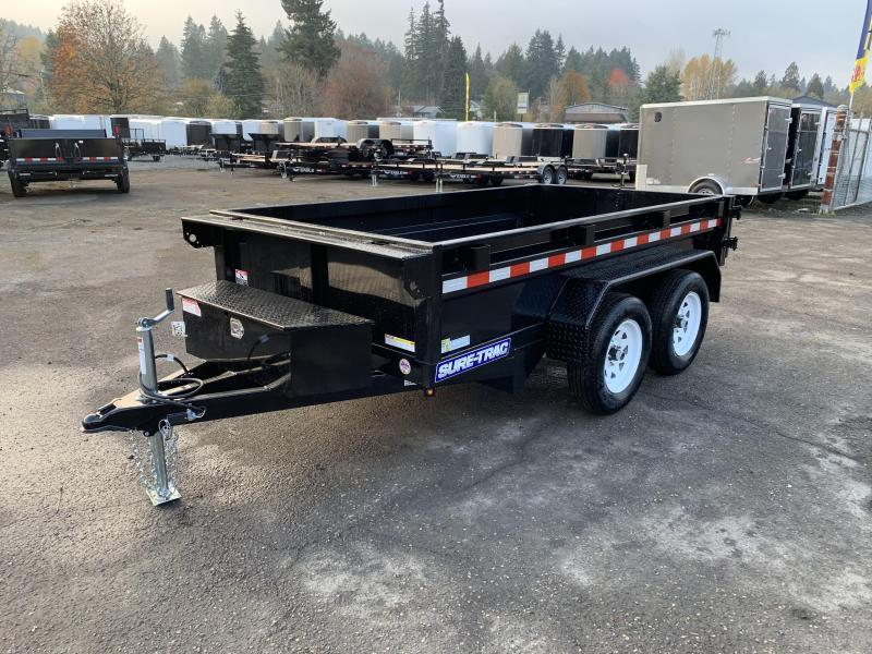 5x10 Dump Trailer 7K Single Ram