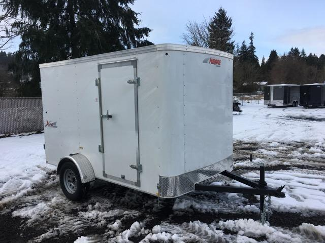 6x10 Enclosed Trailer With Double Door